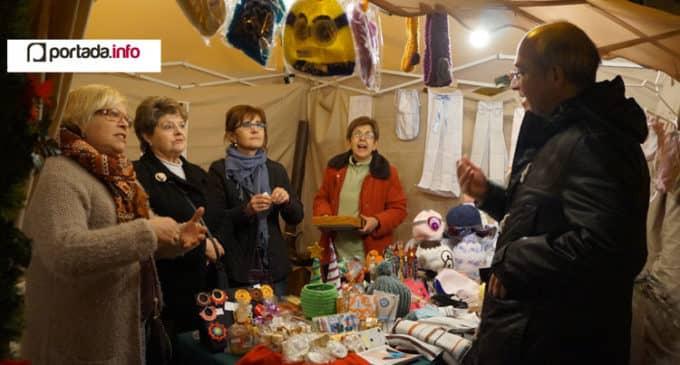 Cuenta cuentos y talleres para la Feria de Navidad