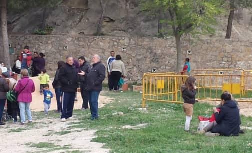 La adecuación del parque de Las Cruces podría concluir en abril