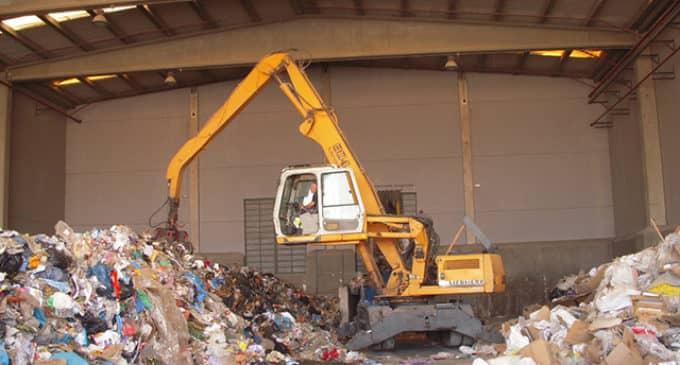 Viaje para conocer la planta de residuos de Algimia