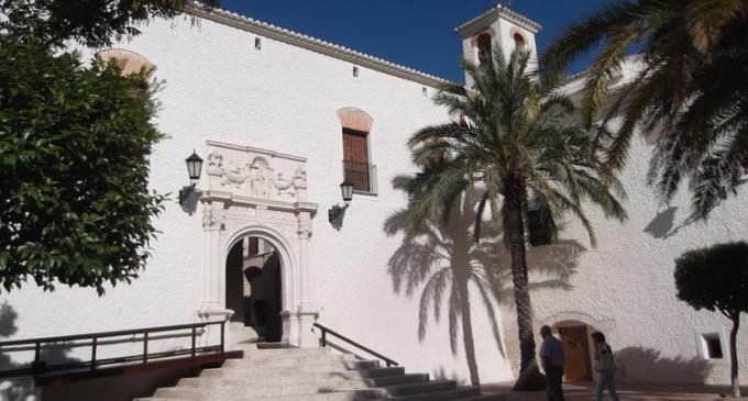 Restringen el acceso a las celdas y la cripta del santuario de Las Virtudes