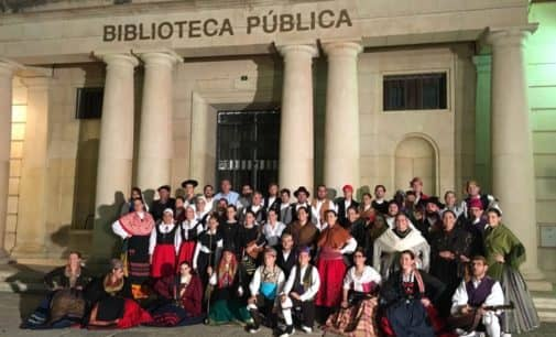 El Grupo de Danzas de Villena viaja a Teruel