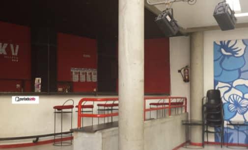 La cafetería de la Casa de la Cultura lleva un mes cerrada