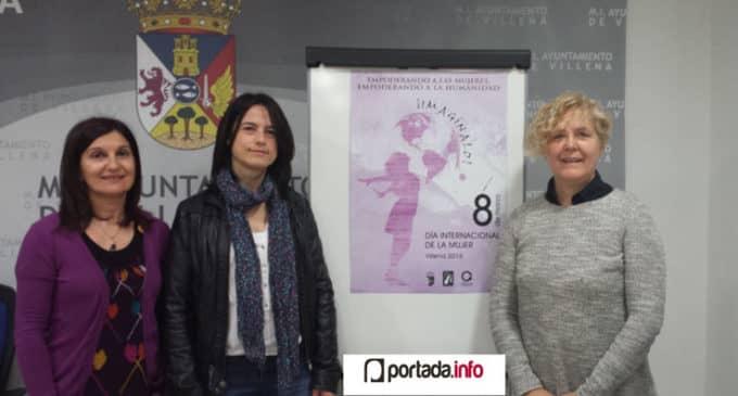 Villena dota con 299 euros el concurso del cartel del Día de la Mujer