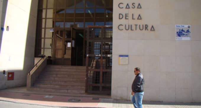 La Casa de la Cultura aplaza su programa de actividades hasta el 2 de febrero