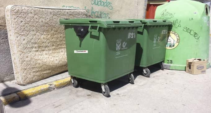 Villena suprimirá los sábados la recogida de basura
