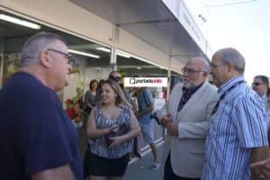 En la Feria con la alcaldesa de Monforte del Cid