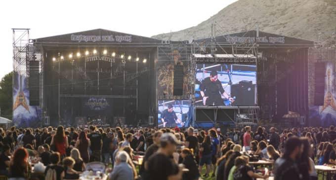 Comercios y Servicios Vi apostamos por la continuidad en Villena de los Festivales Leyendas del Rock y Rabolagartija