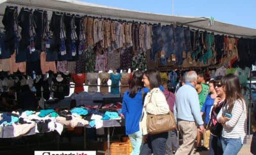 Villena inicia el proceso de adjudicación de puestos para el mercadillo de los jueves