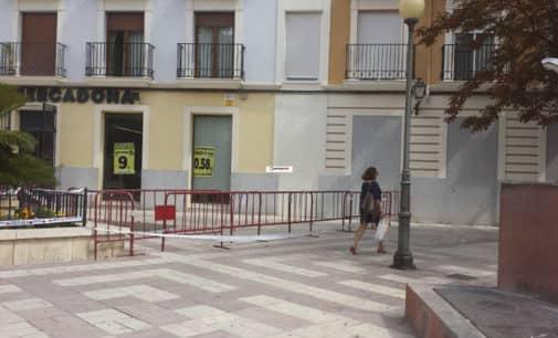 Diputación invertirá 411.502 euros en la plaza Las Malvas, imbornales en la calle Navarro Santafé y una conducción de agua