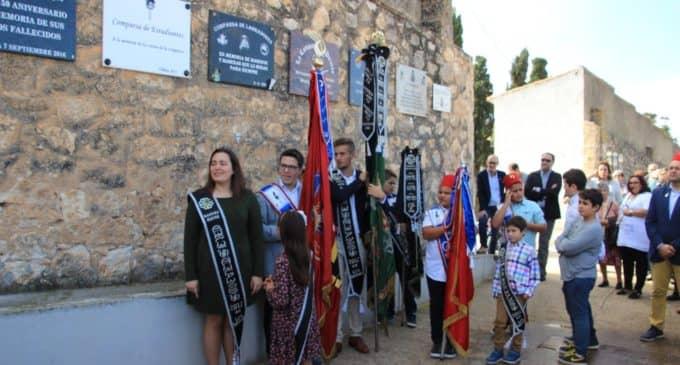 Homenaje a los difuntos para iniciar el 175 aniversarios de Moros Viejos y Cristianos