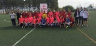 Victoria del equipo Femenino del Villena CF y derrota del Villena B