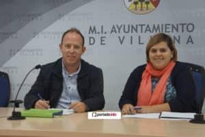 Francisco García, nuevo director del Archivo y Bibliotecas y Conchi Beltrán edil de Cultura