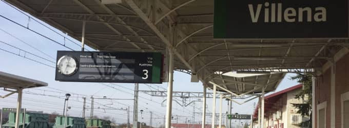 Elda y Villena retoman la lucha por el tren de cercanías