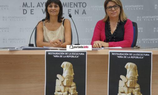 Villena recupera una de las pocas esculturas existentes de la Primera República Española