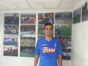 Abraham jugador del Villena CF