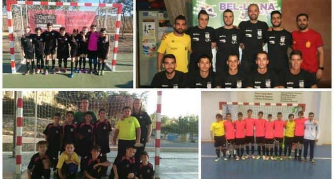 El primer equipo del Bel-liana FS recupera la senda de las victorias en su desplazamiento a Orihuela