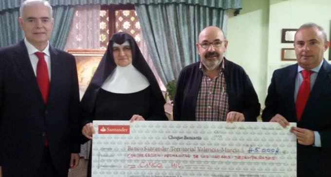 Banco Santander respalda la reforma del Hogar de Ancianos de Villena con su programa Santander Ayuda
