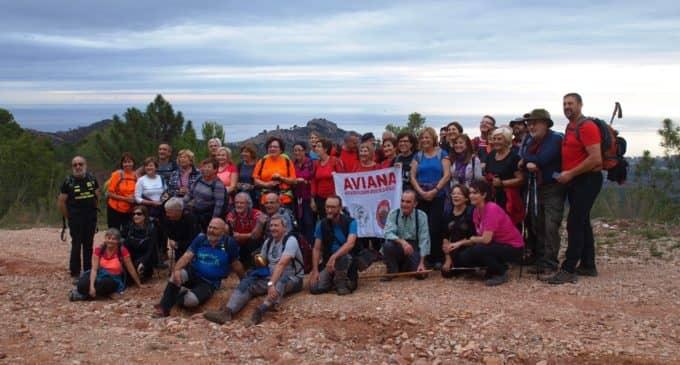 Aviana en el desierto de Las Palmas en Castellón