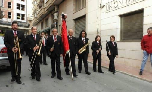 Por primera vez la Unión Musical y Artística de Sax con motivo de Santa Cecilia recoge a un músico fuera de su localidad