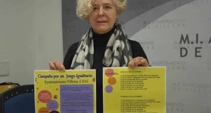 Villena promueve este fin de semana el juego igualitario entre niños y niñas
