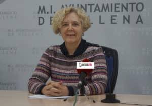Cate Hernández, portavoz de Los Verdes