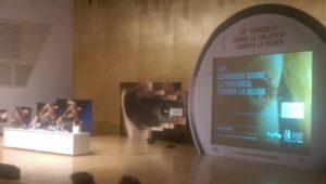Congreso sobre la violencia de género organizado por Diputación