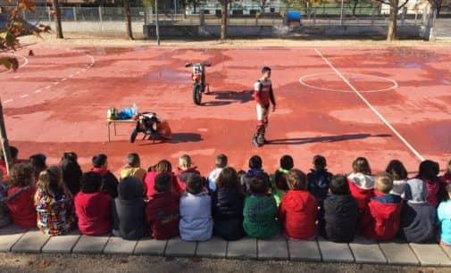 Coque López presentará la temporada 2017 en el Campeonato de España de Freestyle