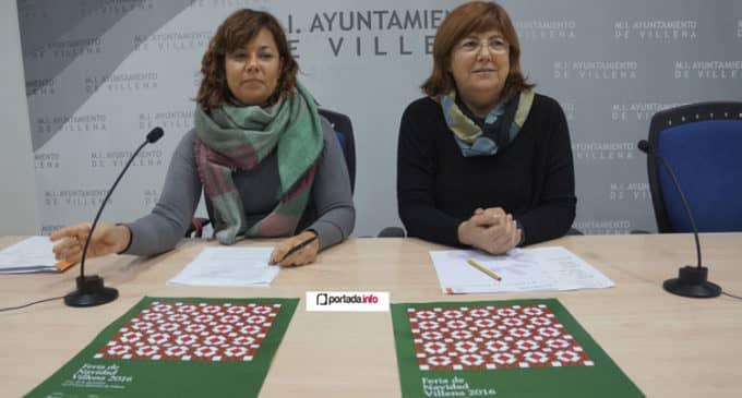 Talleres, concursos y solidaridad centrarán las actividades de la feria de la Navidad en Villena