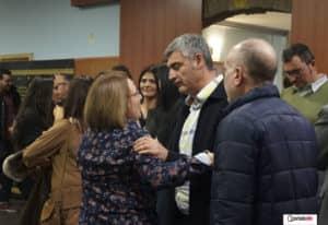 Mari Cruz Rojas felicita al nueva presidente de la Junta Central de Fiestas