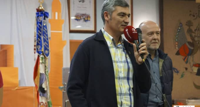El nuevo presidente de la  Junta Central de Fiestas, Luis Sirera, apuesta  por sumar esfuerzos