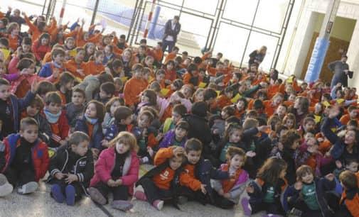 Inauguración de los nuevos patios del colegio Salesiano de Villena