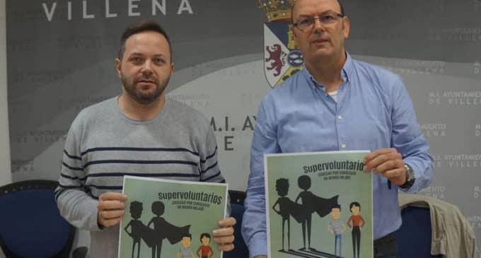 26 asociaciones participarán el sábado en Villena en la feria del voluntariado