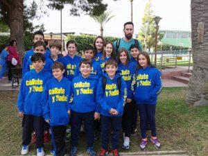 Nadadores del Club Natacción