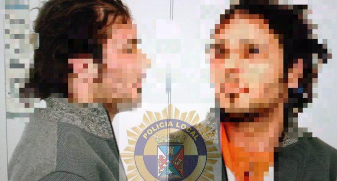 La Policía Local de Villena detiene a un individuo que acuchilló a otro hombre