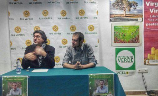 Conferencia del Eurodiputado Florent Marcellesi