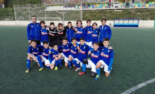 El Alevín A del Villena CF gana el Torneo I Memorial Lionel Grau de Alcoy