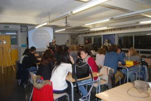 Aulario de  la escuela oficial de idiomas