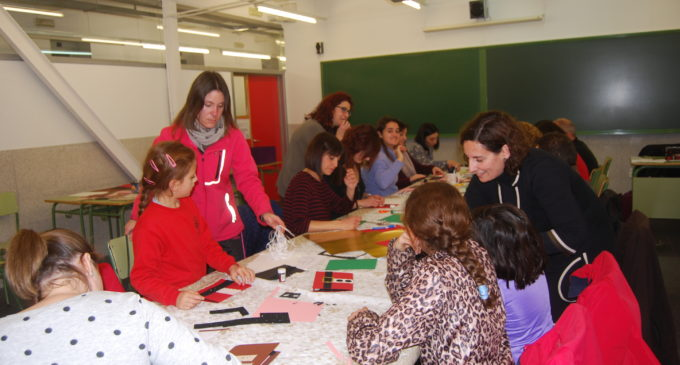 Navidad, Nadal, Christmas, Weihnachten, Noël en el aulario de la Escuela Oficial de Idiomas Villena