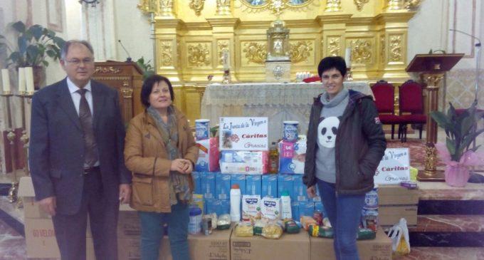 La Junta de la Virgen colabora un año más con Cáritas