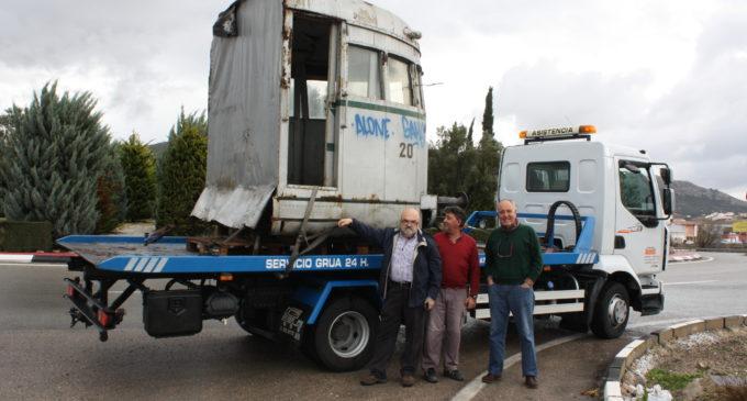 Ceden una Cabina del Automotor del Chicharra al Museo de la Ciudad