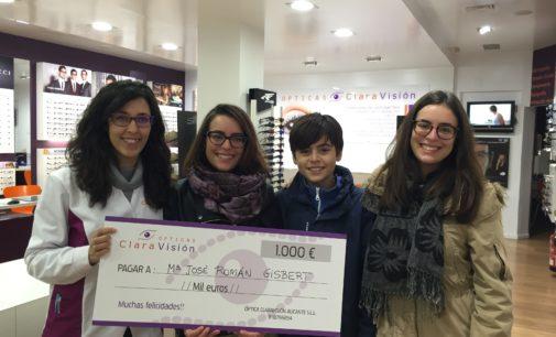 Ganadores de la promoción del décimo aniversario de Claravision