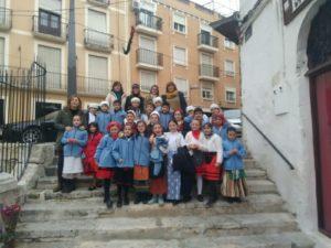 Grupo de tercero de Primaria del colegio Paulas