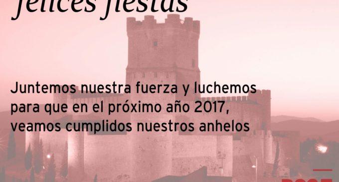 Felicitación de Navidad PSOE Villena