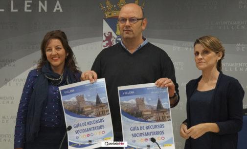 Villena presenta una guía con los recursos sociosanitarios existentes