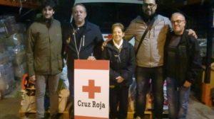 Moto Club Villena con Cruz Roja