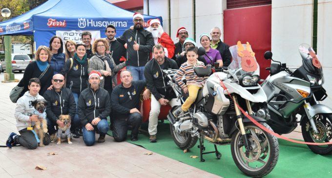 Navidad Solidaria organizada por Moto Club Villena