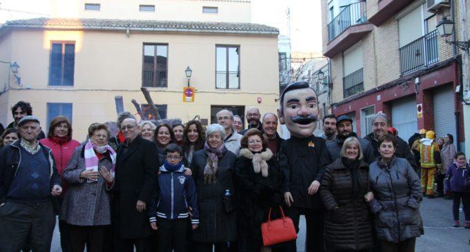 Toquis Nonis y el encendido de la hoguera de San Antón