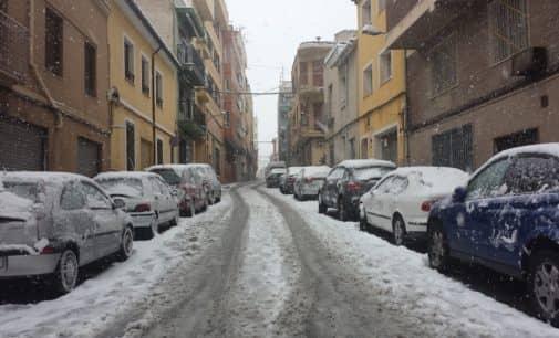 Intervenciones de los efectivos del Consorcio Provincial de Bomberos durante el temporal de nieve