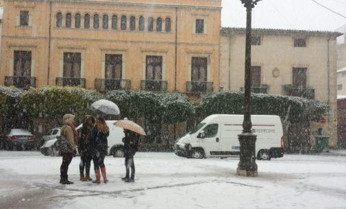 Alertan de nevadas, fuerte viento y precipitaciones abundantes a partir del domingo en Villena