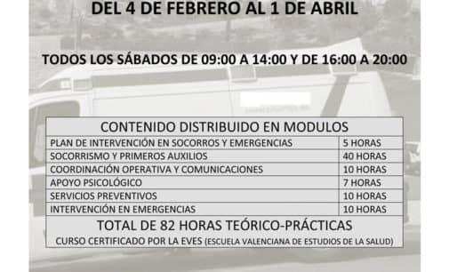 """Cruz Roja impartirá un curso de """"Socorrismo y primeros auxilios"""""""